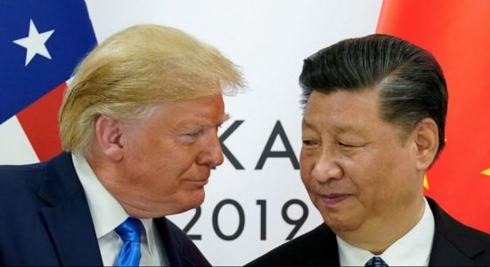 Trump links China talks with Hong Kong protests, spoke to Apple CEO about China tarrifs