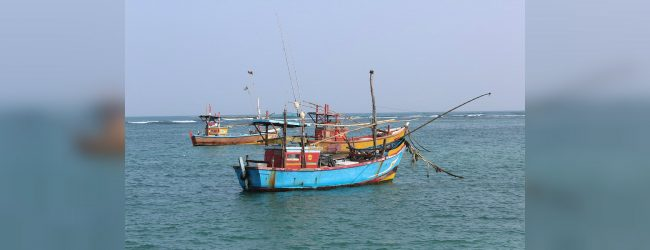 Fishing communities warned to refrain from faring out to sea