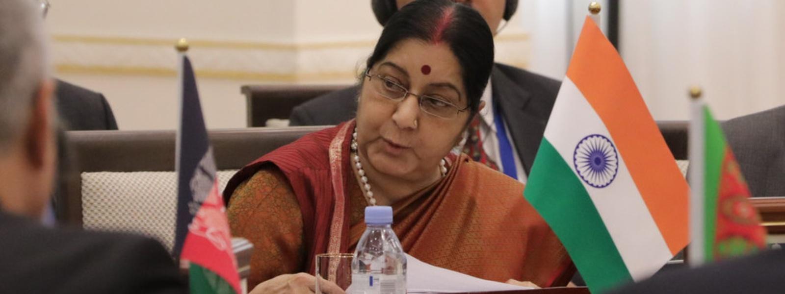 Former Indian External Affairs Minister Sushma Swaraj passes away