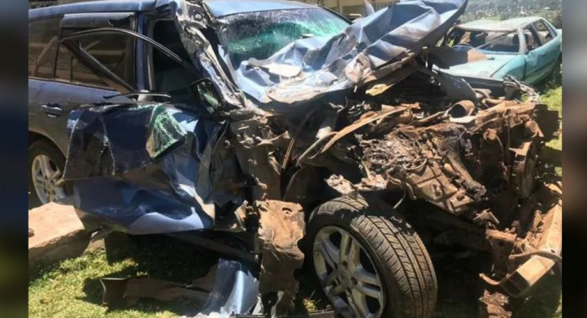 Rudisha escapes unhurt from bus collision in Kenya