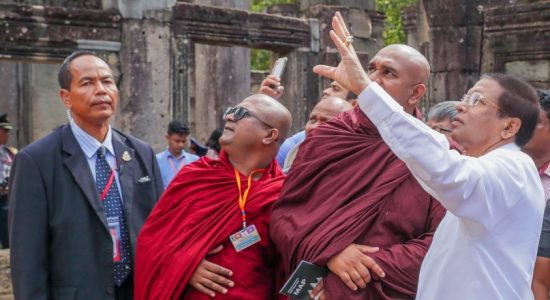 President attends several Buddhist religious programmes in Cambodia