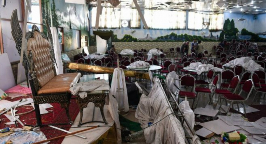 Bomb kills 63 at wedding in Kabul, Afghanistan