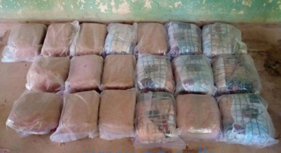Navy seizes 39kg of Kerala cannabis