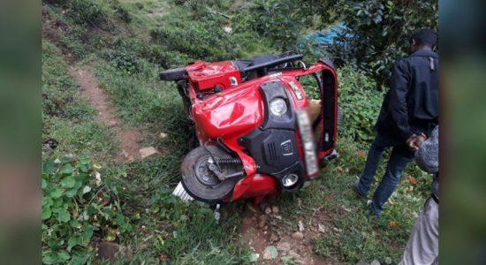 Tragic accident: Parents reported dead; children injured