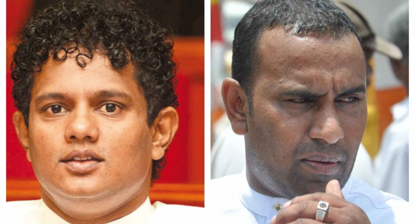 UNP MPs Hesha Withanage and Chaminda Wijeysiri resign from monitoring MP positions