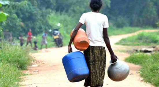 Water scarcity disrupt lives in Kantale and Hambantota