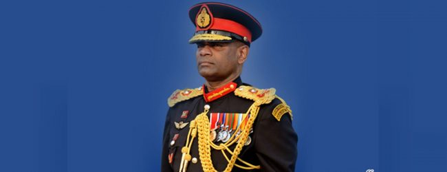 Retired General Mahesh Senanayake : 4 decade military service
