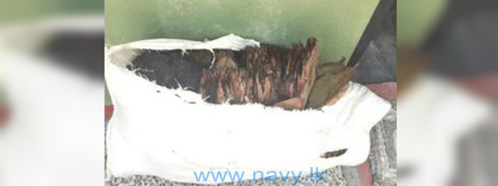 Fisherfolk support Navy to recover 36 kg of beedi leaves