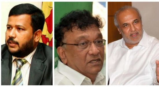 Ulapane Sumangala thero files complaint against Bathiudeen, Kiriella and Rauf Hakeem