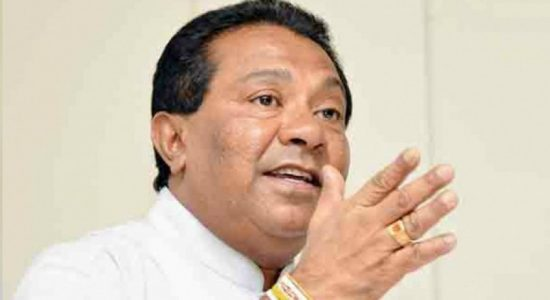 """""""National duty of SLFP is to accept their candidate"""": S. B. Dissanayake"""