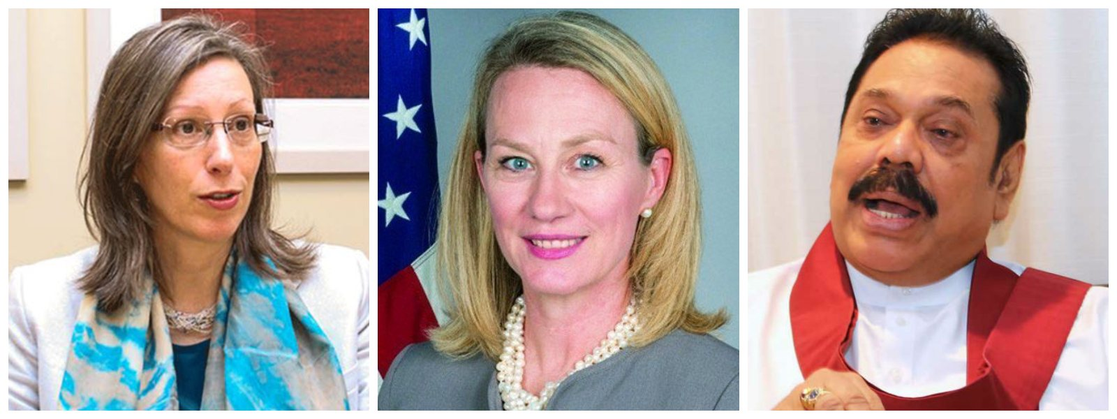Top US diplomats meet opposition leader Mahinda Rajapaksa