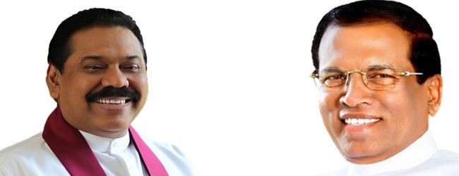 Special discussion between President and Mahinda Rajapaksa
