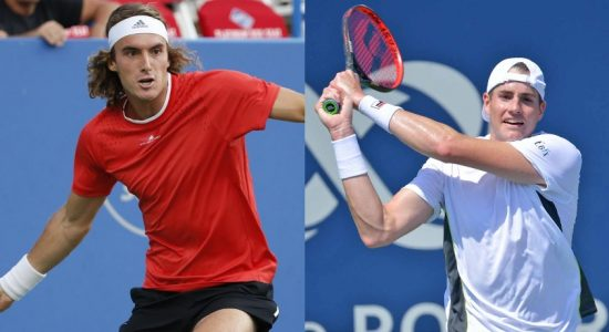 Tsitsipas and Isner crash out in Montreal