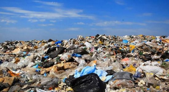 Signs of the garbage crisis prolonging