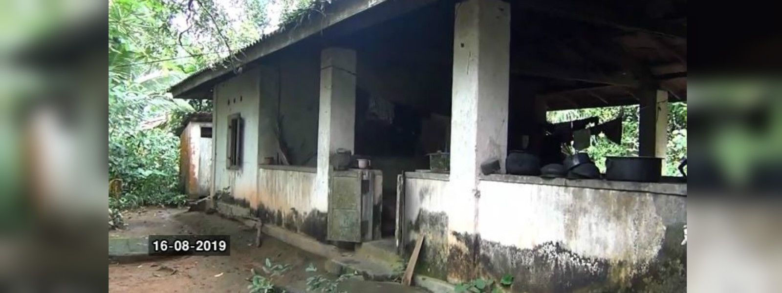 A school, later a clinic and now abandoned