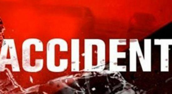 Bus full of pre-school children crashes into six vehicles at Nittambuwa