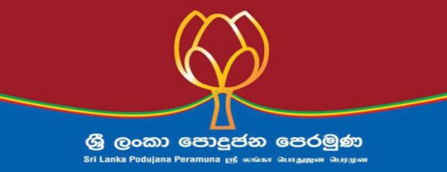 SLPP to hold a special meeting at Wijerama