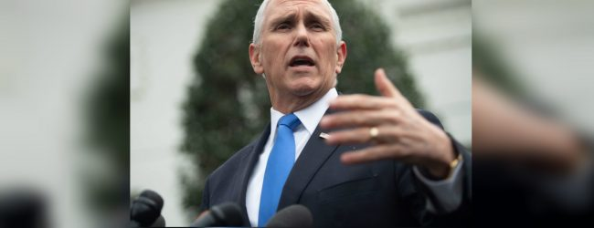 Pence urges China to respect Hong Kong laws amid protest