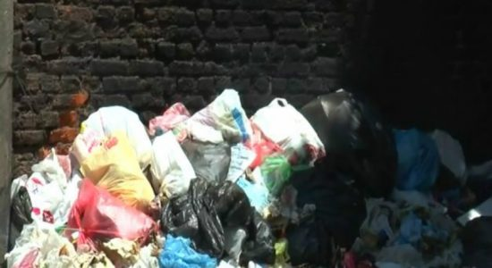 Collection of garbage in Colombo halted; solution not yet provided