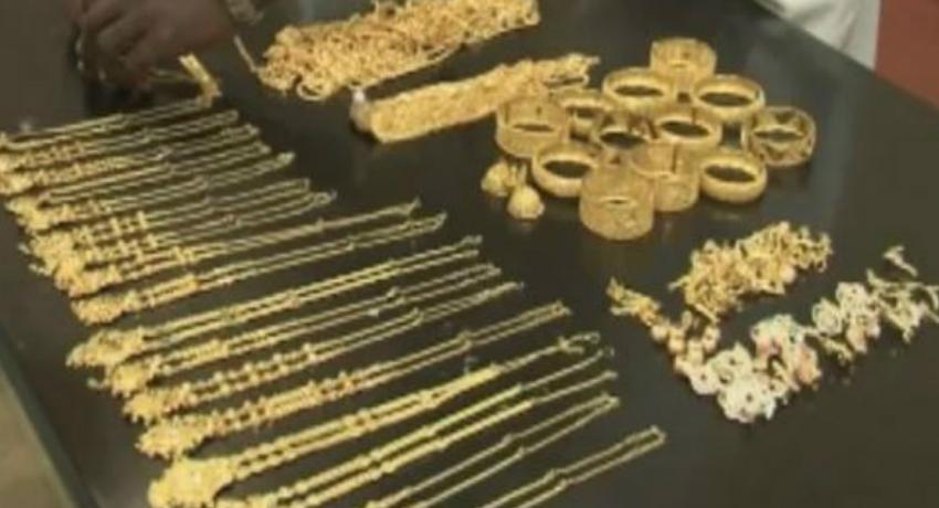 Jewellery store heist in Dodangaslanda