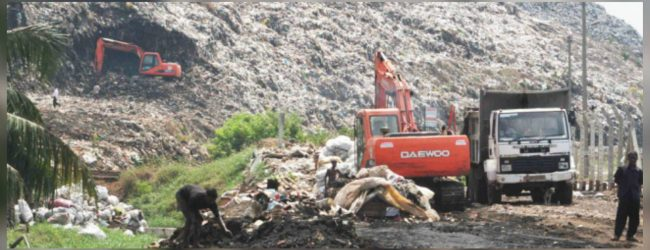 28 garbage trucks to Aruwakkalu attacked once again