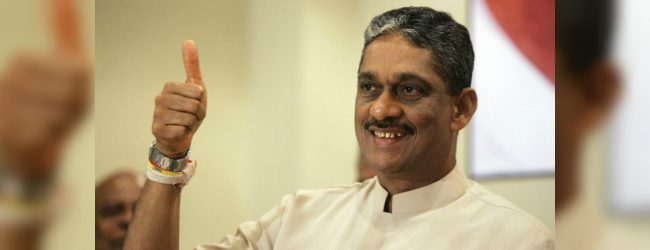 SLPP made the right decision with their candidate : Sarath Fonseka