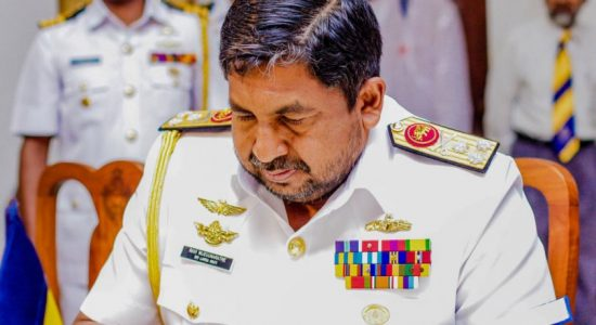 Chief of Defence Staff Admiral Ravindra Wijegunaratne's tenure extended