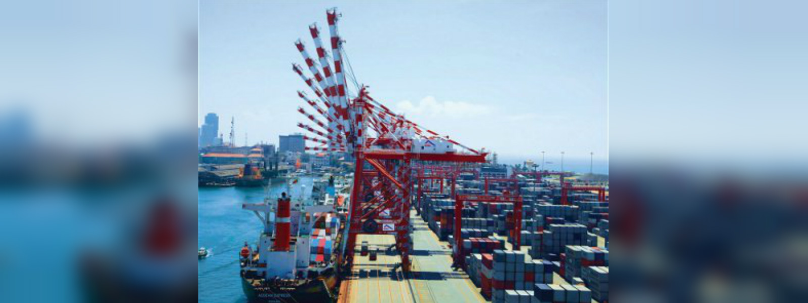 SLPA on the Colombo Ports's decline in volume in July