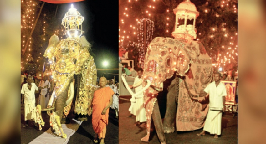 Final Randoli Perahera of the Bellanwila Raja Maha Viharaya