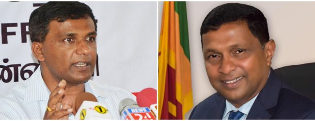 Ministerial portfolios of Anoma Gamage and Lucky Jayawardene ammended