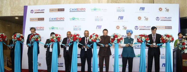 COMPLAST and RUB-EXPO kicks off at BMICH
