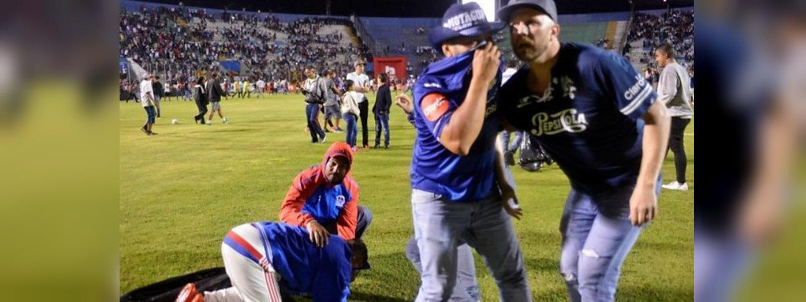 Honduras football rioting: Three killed ahead of Tegucigalpa derby