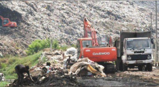 CMC requests for security for garbage transportation