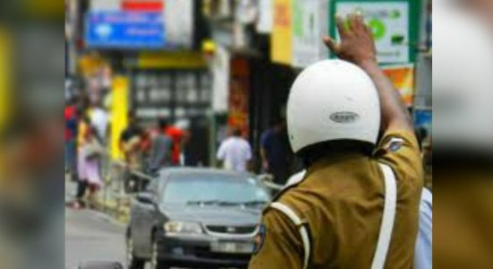 Special traffic plan in Bambalapitiya from August 31st to September 10th