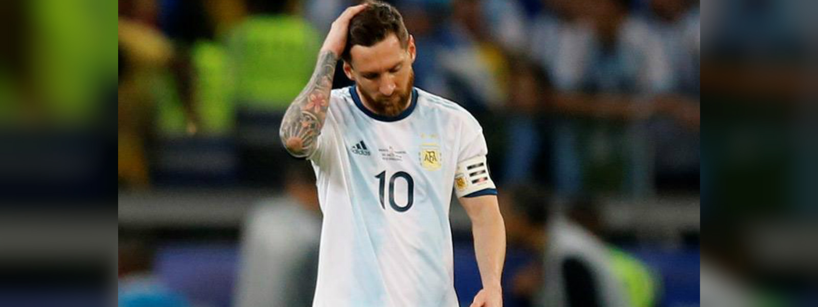 Messi banned from internationals for three months