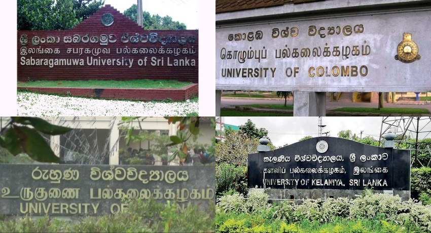 Four universities majorly affected by the strike