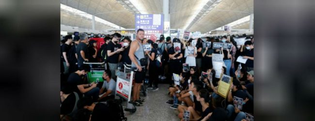 Hong Kong airport cancels all flights on Monday due to protests