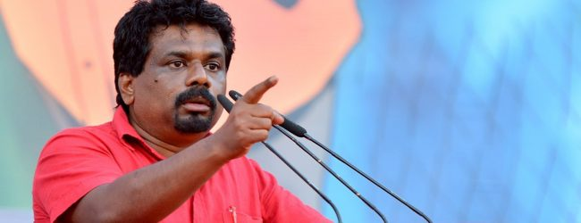 Anura Kumara named Presidential candidate of National Peoples Power