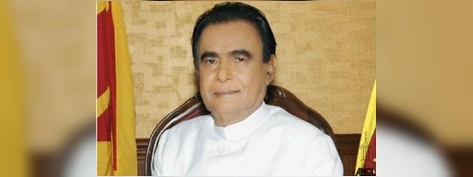 Final rites of D.M. Jayaratne to be held tomorrow