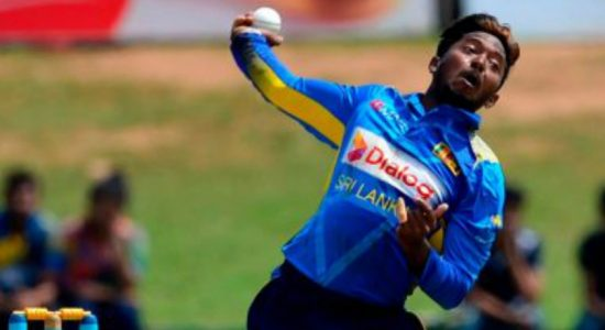 SL spinner Akila Dananjaya leaves for Chennai for tests on bowling action