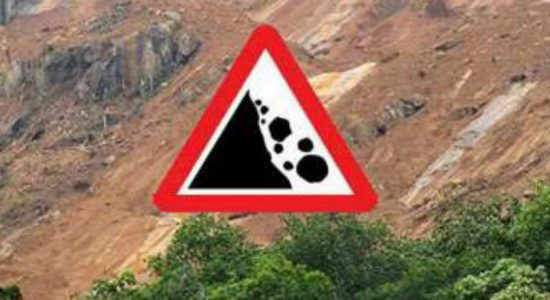 NBRO issues warnings to those living in landslide-prone areas