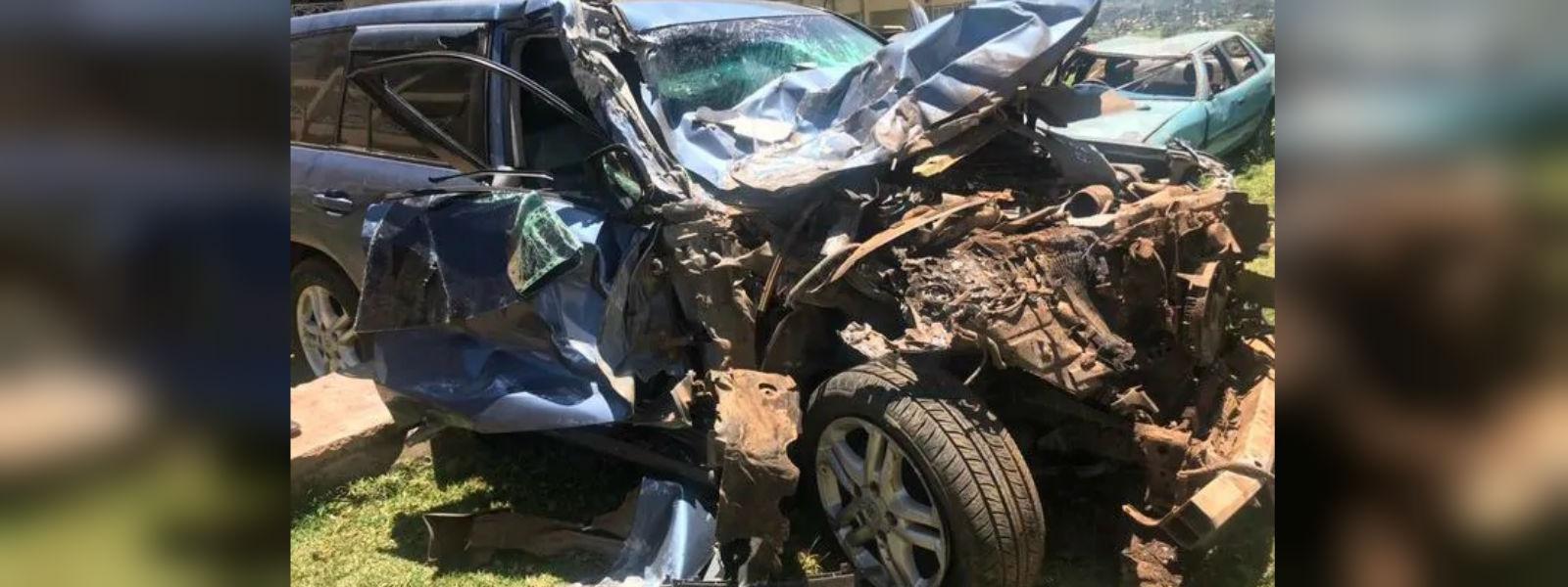 Rudisha escapes unhurt from bus collision in Kenya