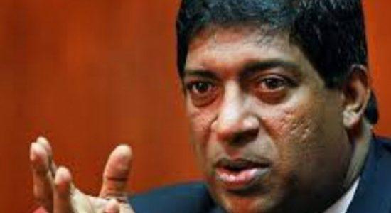 'A very strange meeting' at Minister Ravi Karunanayake's residence