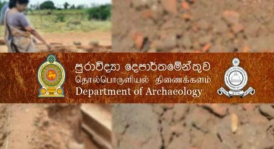 Two stupas belonging to the 2 BC discovered