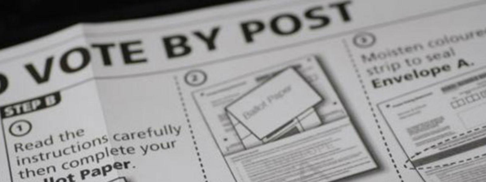 Phase 2 of postal voting begins