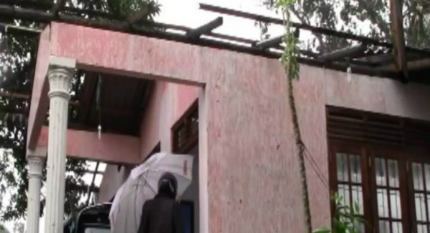 Over 60 houses damaged by strong winds