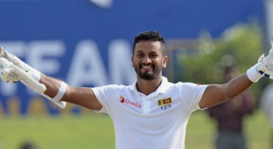 Dimuth Karunaratne ranked 8 in the ICC Test Rankings for batsmen