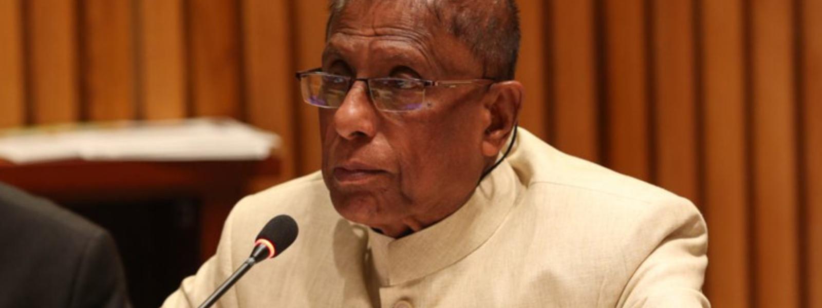 Min. Gamini Jayawickrama to provide a statement on Mahapola irregularities