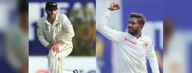 New Zealand's Williamson and Sri Lanka's Dananjaya reported for suspect bowling action