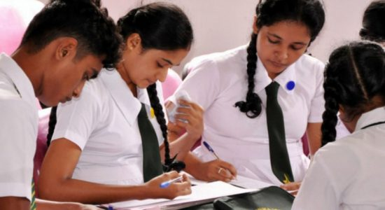 GCE Advanced Level examination 2019 begins